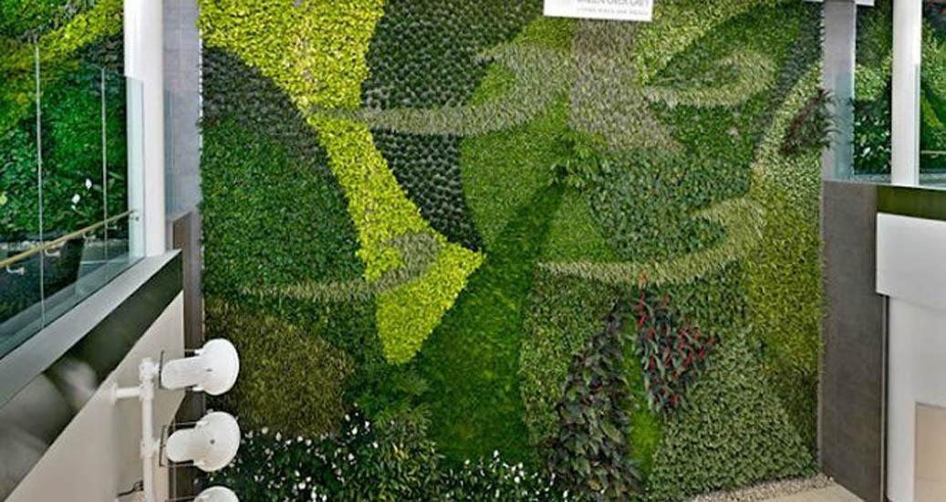Las dalias for Caracteristicas de los jardines verticales
